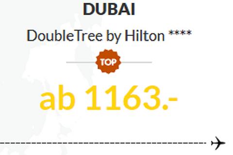 Dubai, DoubleTree by Hilton ****