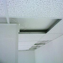 Faux plafond fibre minérale