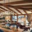 Penthouse Suite Wohnzimmer Gstaad Palace