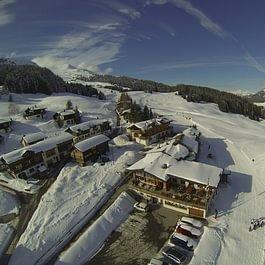Berghotel Sartons im Winter