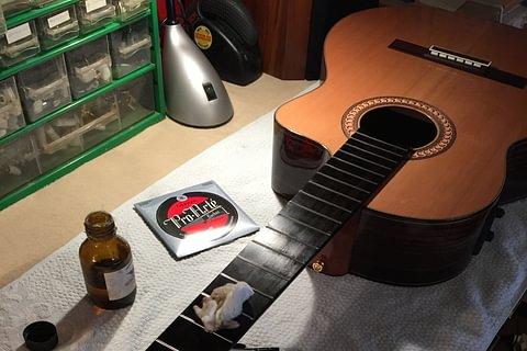 Petits travaux de restauration de votre instrument
