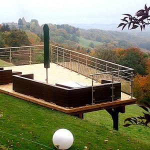 Terrasse bois jardec