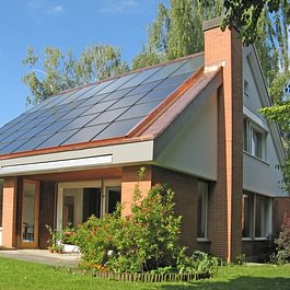 Photovoltaikanlage / Spenglerarbeiten in Kupfer