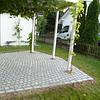 1 Gartenumänderung Sitzplatzpflasterung