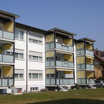 Balkonverglasung AMM Künzli Thun