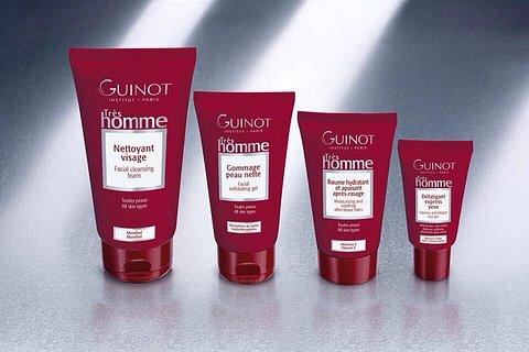 Ligne de soins essentiels pour la peau des hommes! Guinot