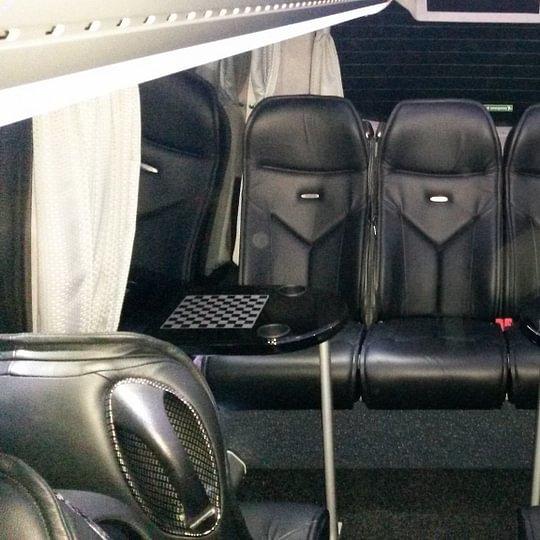 Mercedes Sprinter - Salon arrière