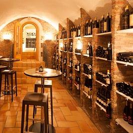 unbegrenzte Auswahl im Weinkeller