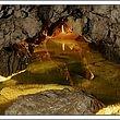 Le lac silencieux des Grottes de Vallorbe