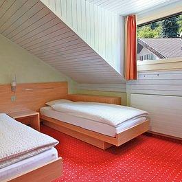 DZ mit separaten Betten Hotel des alpes