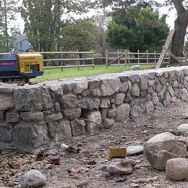 Mur à l'ancienne / Mur pierre sèche