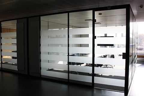 Glasdecor / Sichtschutz