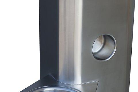 Système combinée WC/labvabo inox