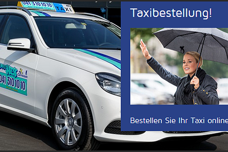 Taxibestellung Online