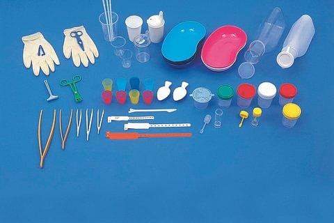 Kunststoffartikel für das Gesundheitswesen