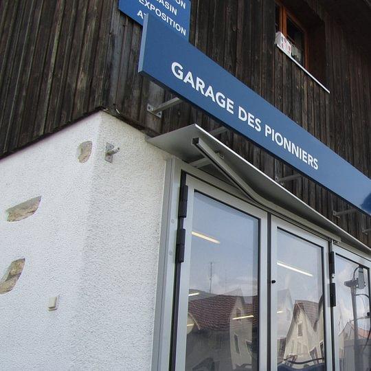 Garage des Pionniers