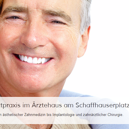 Zahnarztpraxis am Schaffhauserplatz