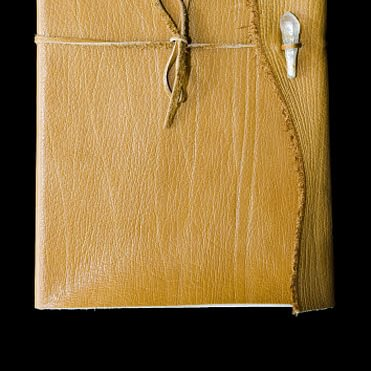 carnet de note en cuir véritable