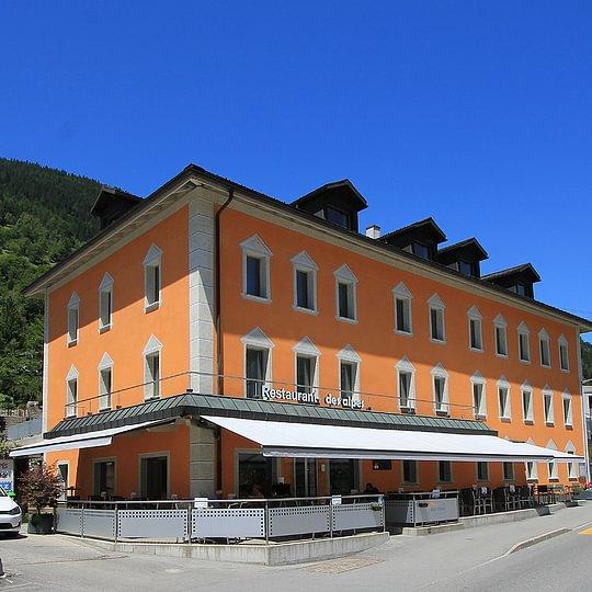 Hotel Restaurant des alpes Fiesch Aletsch Arena