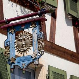 Restaurant Sonne Wirtshausschild von 1600