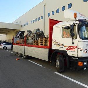 Fries Transporte Zug