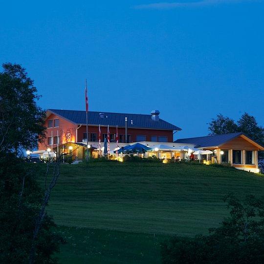 Romantisches Panoramarestaurant