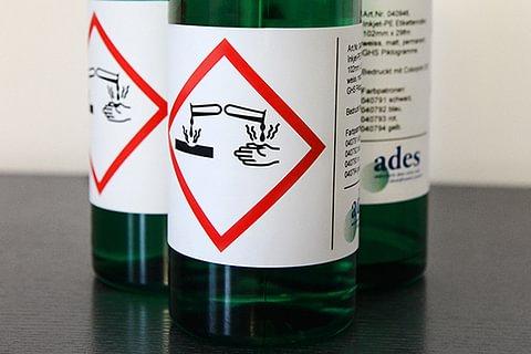 GHS Etiketten / Gefahrengut Etiketten