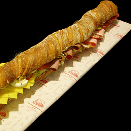 Paillassesandwiche 1 Meter