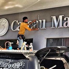 Publicity Shop - Enseigne lumineuse Caveau Mayor
