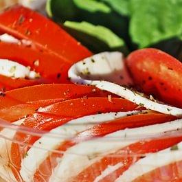 Salat, Tomaten/Mozzarella, Salat Calabrese