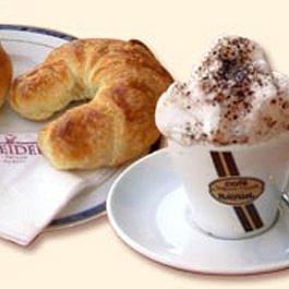 Le Café, Croissant, Petit-pain