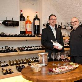 Weinempfehlung im Genussweinkeller