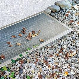 Lichtschacht-Abdeckung, Kellerschacht, Insektenschutz