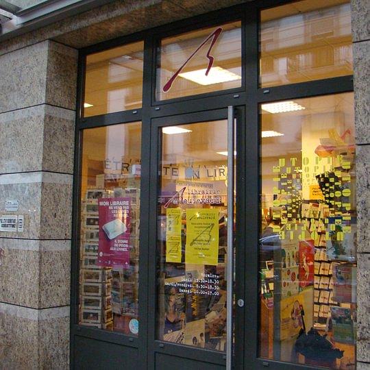entrée Librairie du Boulevard, Genève