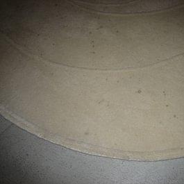 Vorher 2 Teppich weiss