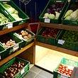 Kartoffeln, Biogemüse, Biofrüchte