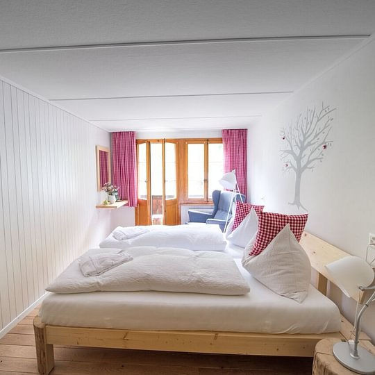 Sanft renovierte Zimmer