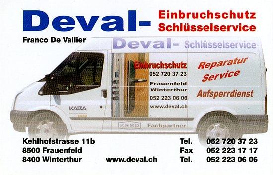 DEVAL - Ihr Sicherheitsexperte