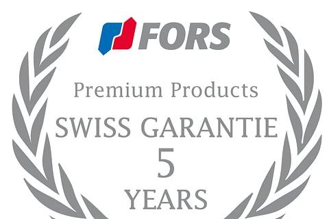 FORS Swiss Garantie 5 Years