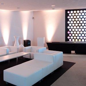 Lounge an Messen