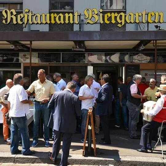 Biergarten Zürich