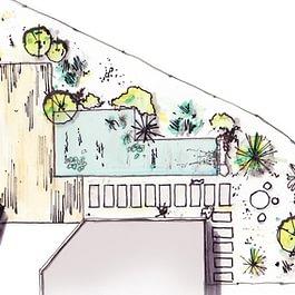 Avant-projet de jardin privé