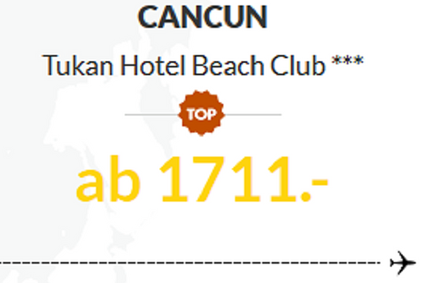Cancun, Tukan Hotel Beach Club ***