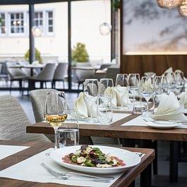 Romantisches Abendessen in Zürich