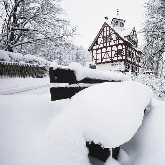 Restaurant Falkenburg, St. Gallen - Falkenburg im Winter