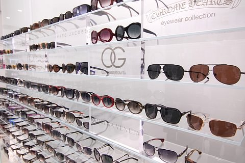Sonnenbrillen von Chrome Hearts, Oliver Goldsmith, Oliver Peoples, Paul Smith