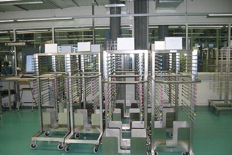Edelstahl Produkte für die Druckereitechnik