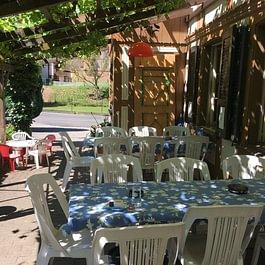 Bären Aetigkofen Gartenwirtschaft Terrasse