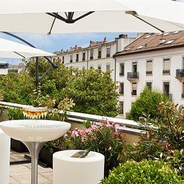 Cocktail privé sur notre Terrasse