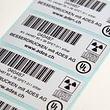 Typenschild-Etiketten aus Kunststoff-Folie
